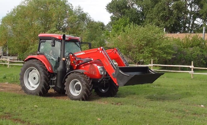 Picture of the McCormick X1 tractor
